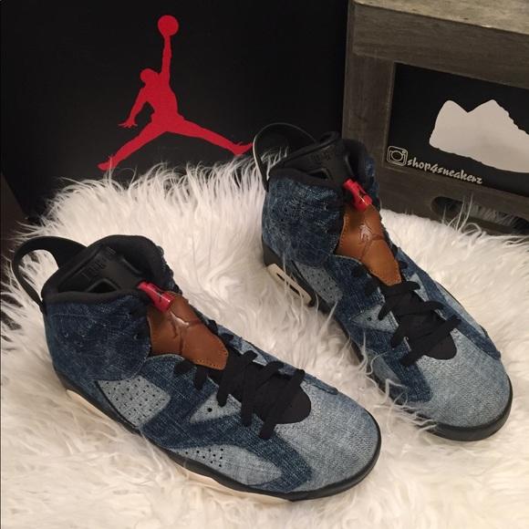 Air Jordan 6 Retro Washed Denim   Poshmark